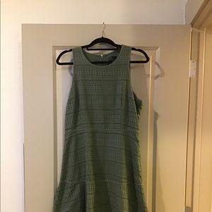GAP size 10 olive dress